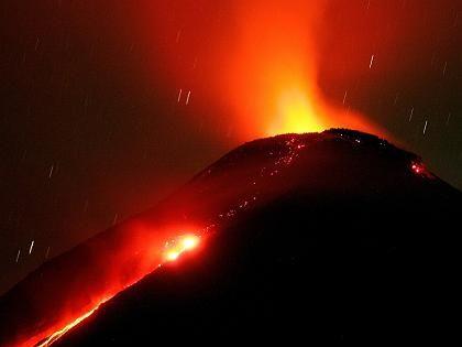 Vulkan Colima (Mexiko): Schwefel als Bakterienfutter