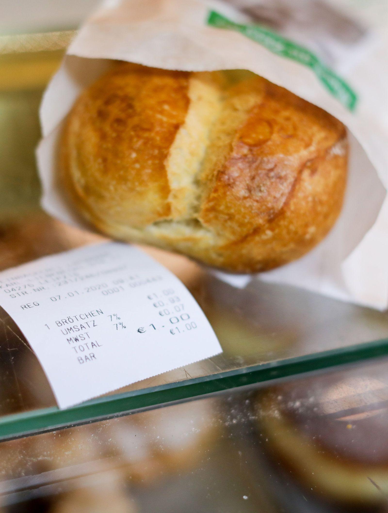 Bonpflicht bei Bäckereien