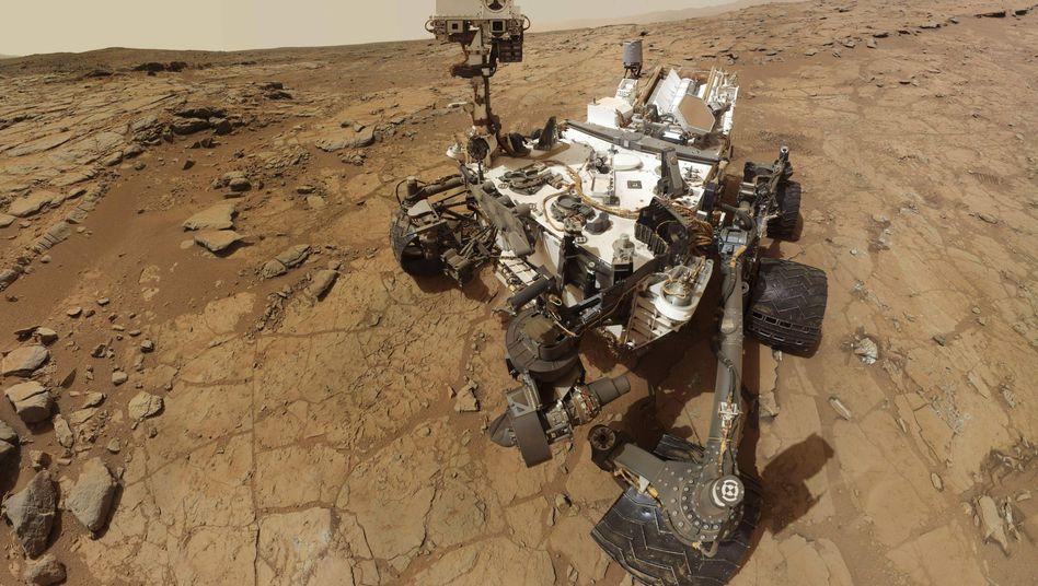 """Mars-Rover Curiosity (Selbstporträt): """"Der Asteroidengürtel ist voller Material für selbstreplizierende Roboterfabriken"""""""