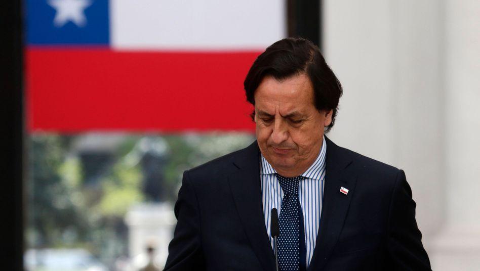 Chiles Innenminister Victor Pérez