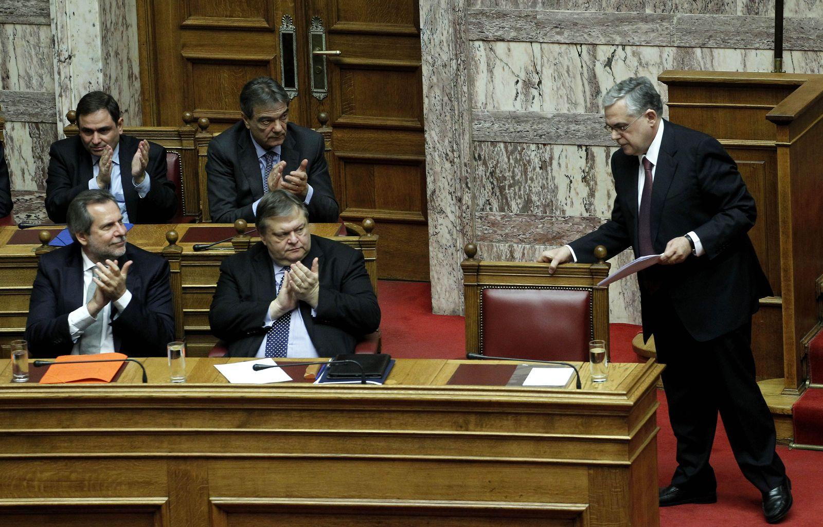 Greece Financial Crisis Papademos