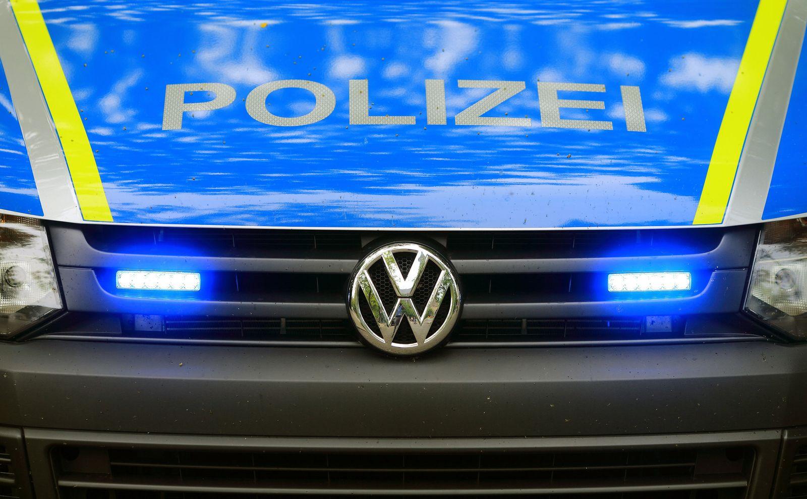 Polizei-Fahrzeug