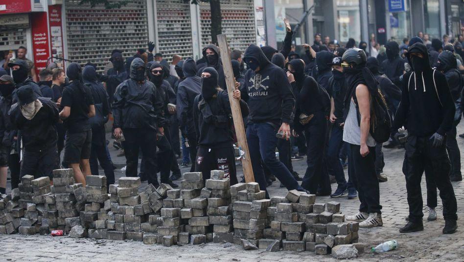 G20-Proteste in Hamburg