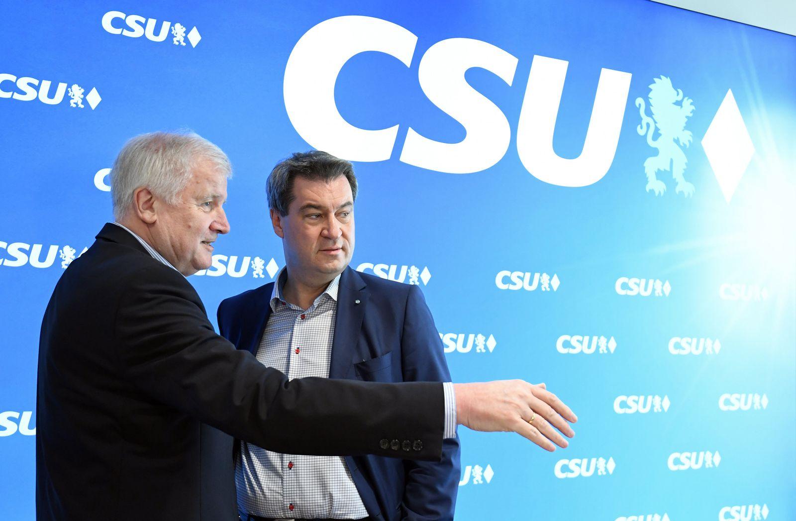 Seehofer/ Söder/ CSU