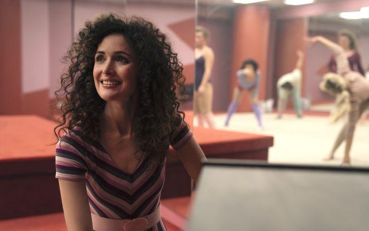 Außen fit und schön, innen voller Selbsthass: Sheila (Rose Byrne) plant eine Aerobic-Karriere