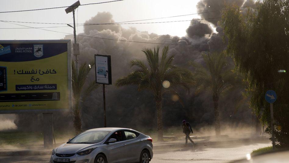 Raketenangriff im Gazastreifen