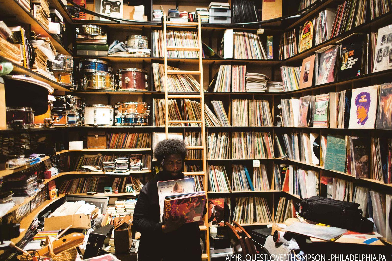 EINMALIGE VERWENDUNG Fotografie/ Eilon Paz: Dust & Grooves