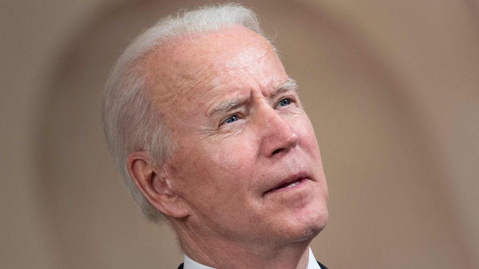 US-Präsident Biden: »Wir haben wirklich keine Wahl«