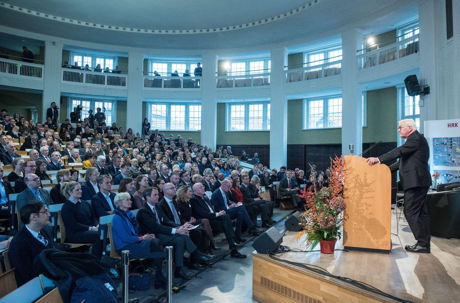 Jahresversammlung der Hochschulrektorenkonferenz