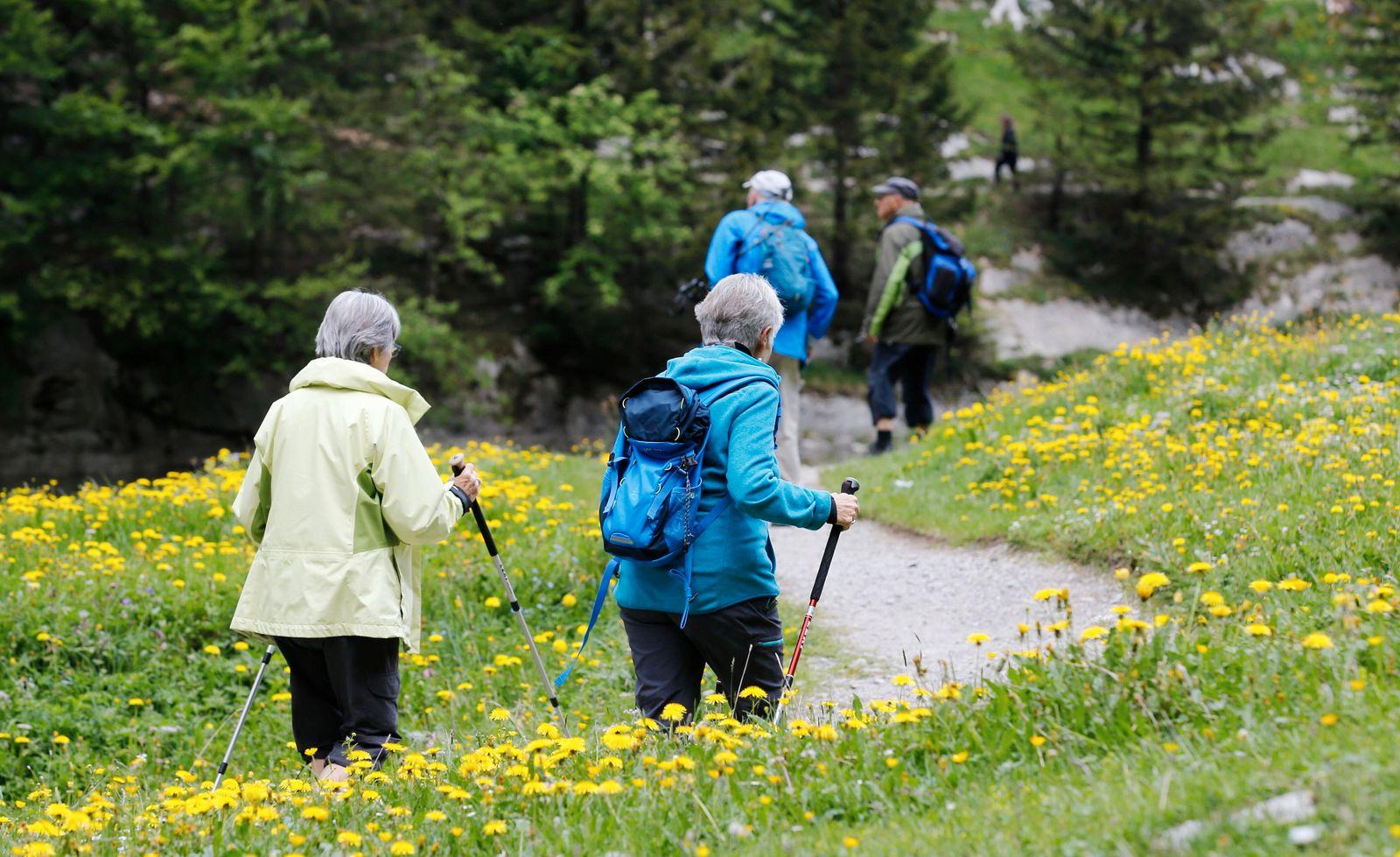 Foto Manuel Geisser 20.5.2020 Schwende (AI) : Wanderung um den Seealpsee Kanton Appenzell *** Photo Manuel Geisser 20 5