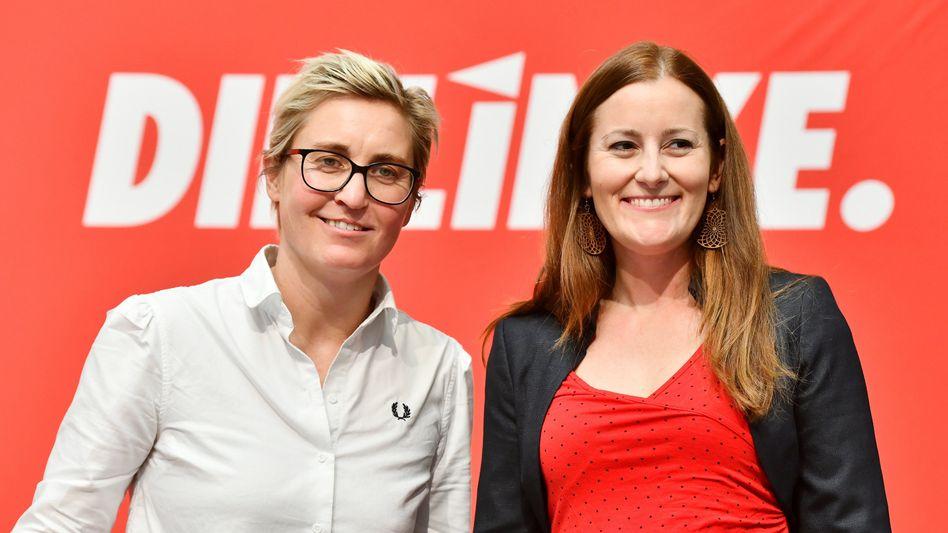 Linkenvorsitzende Susanne Hennig-Wellsow und Janine Wissler: Für Regierungsbeteiligung fähig?