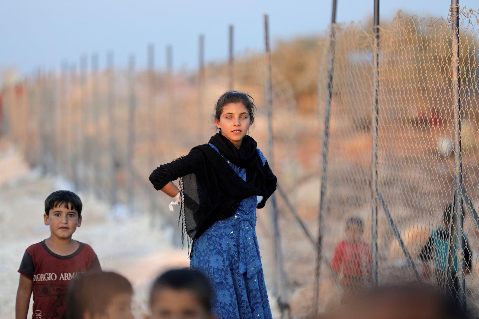 MIDEAST-CRISIS/SYRIA-IDLIB-DISPLACED
