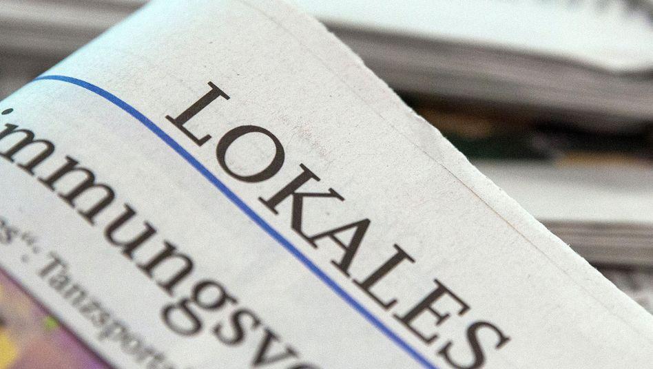 Lokalzeitung (gedruckt)