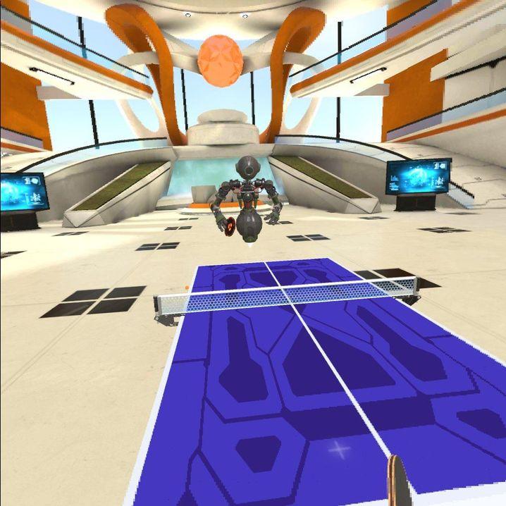 Tischtennis in VR