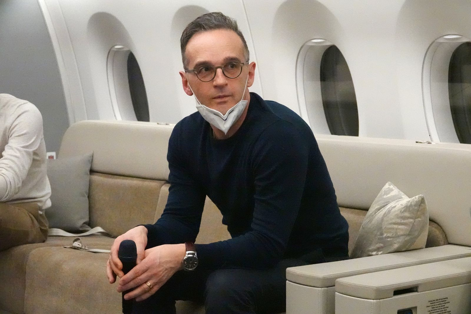 Maas mit neuem Regierungsflieger unterwegs