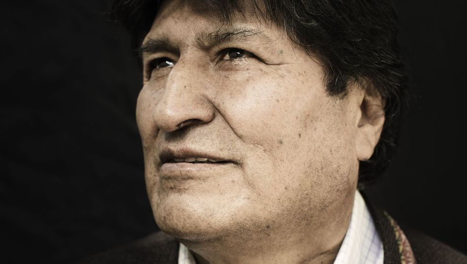 Former Bolivian president Evo Morales photographed in Mexico City