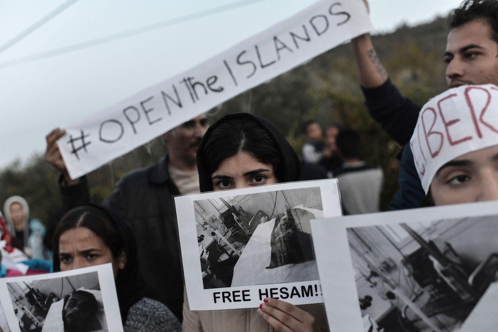 Flüchtlinge / Lesbos