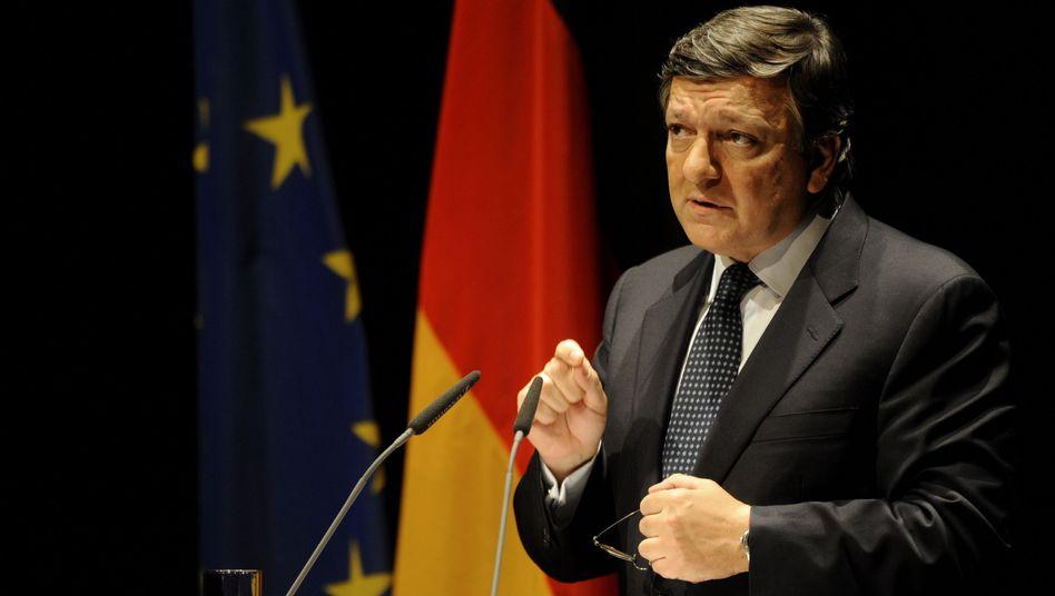 Barroso in Berlin: Vorangehen oder zerfallen?