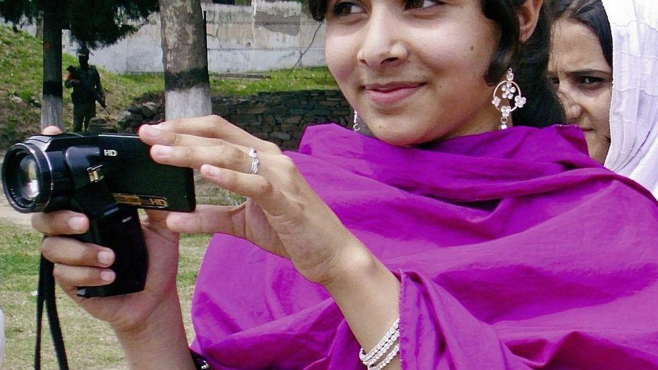 Schülerin Malala Yousafzai