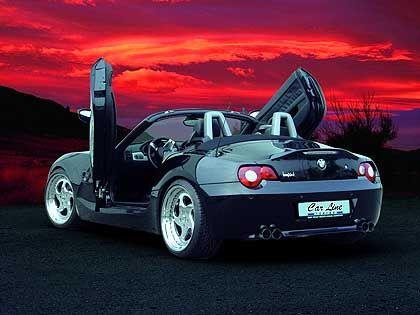 BMW Z4 mit Flügeltüren: Umbausatz für zirka 1500 Euro