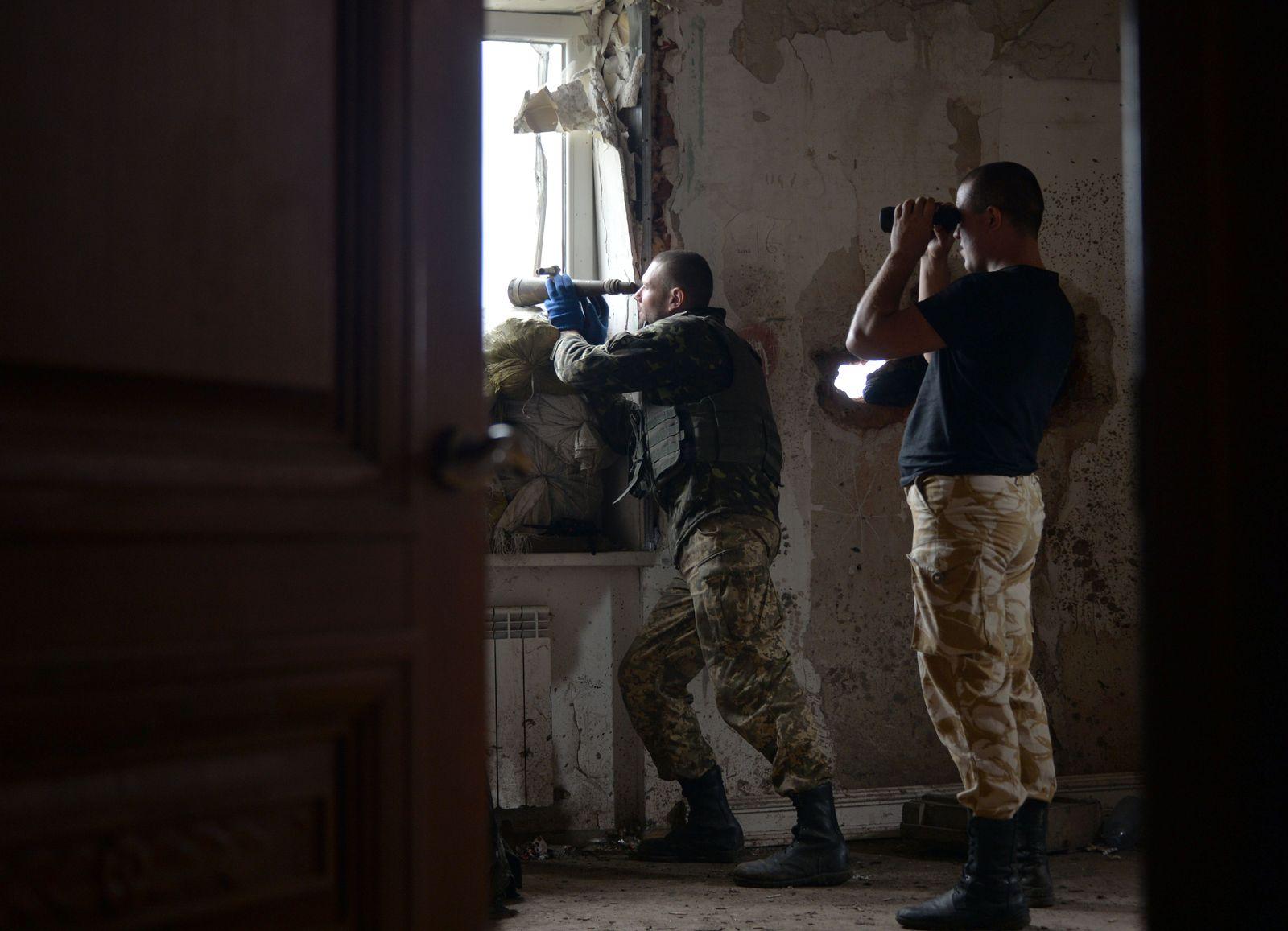 Ukraine/ Russland/ Krieg/ Ukrainische Soldaten