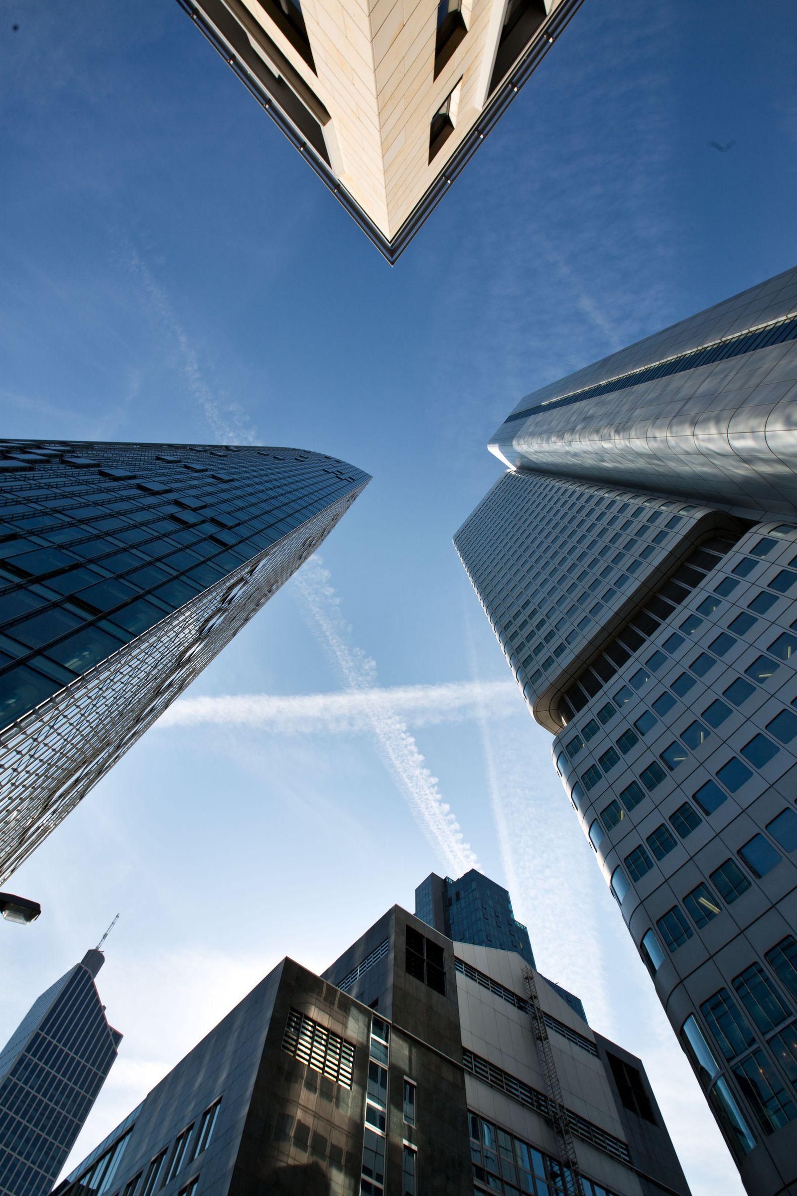 Banken Bankentürme Frankfurt
