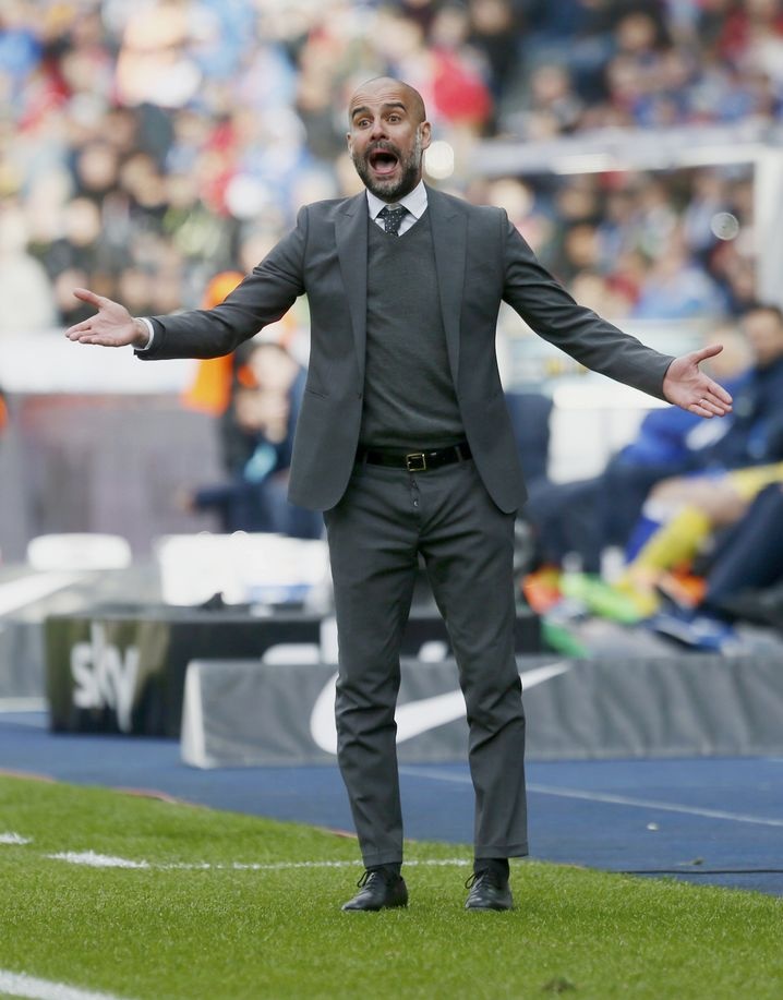 Bayern-Trainer Josep Guardiola