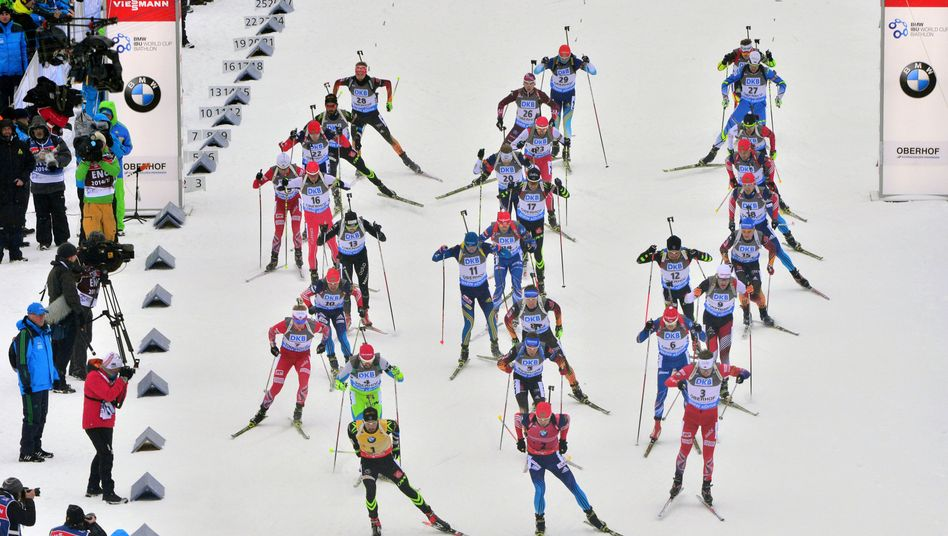 Biathlon-Rennen in Oberhof: Nächster Dopingskandal