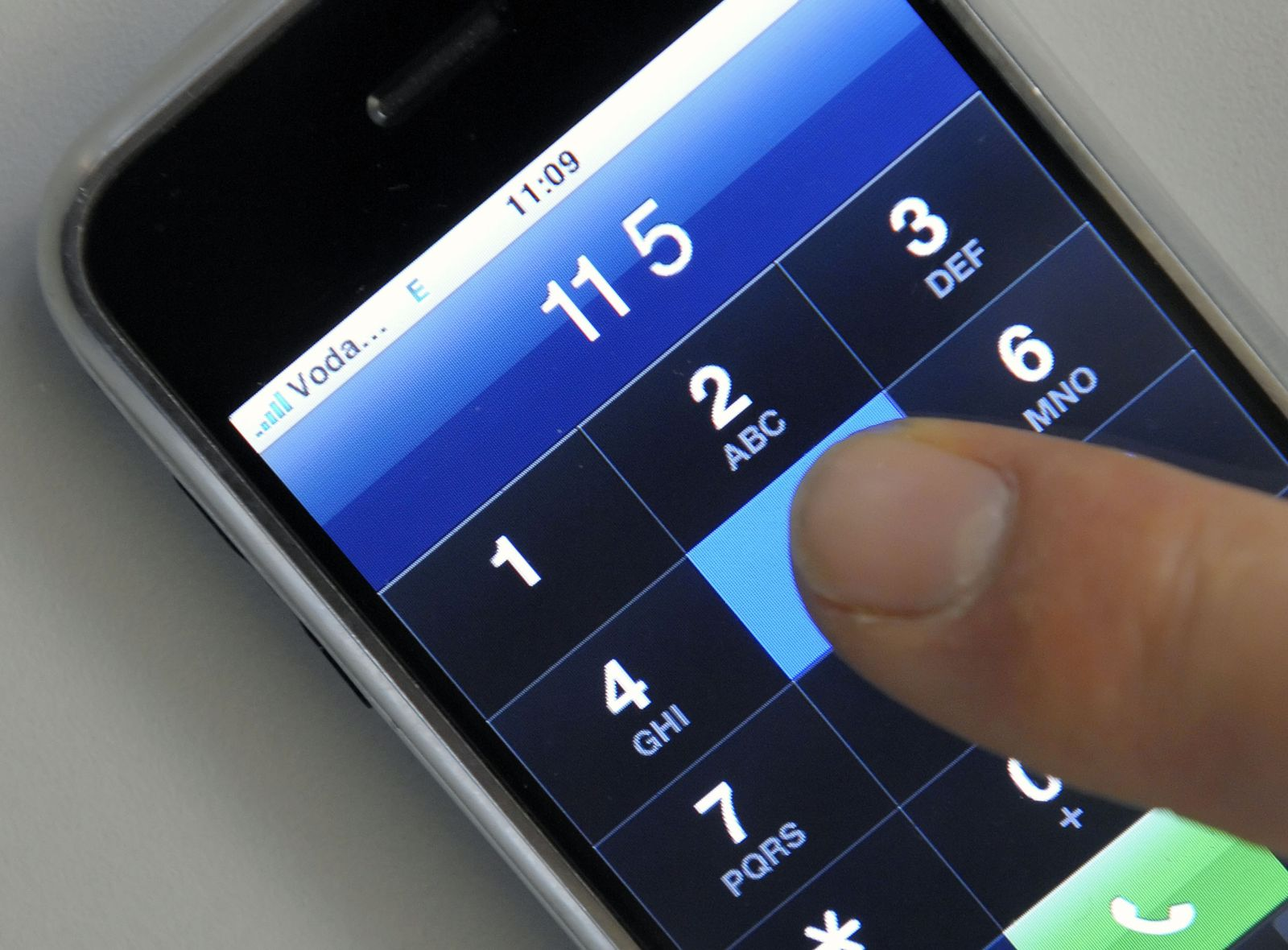 iPhone/ Telefon/ Telefonnummer/ Wählen