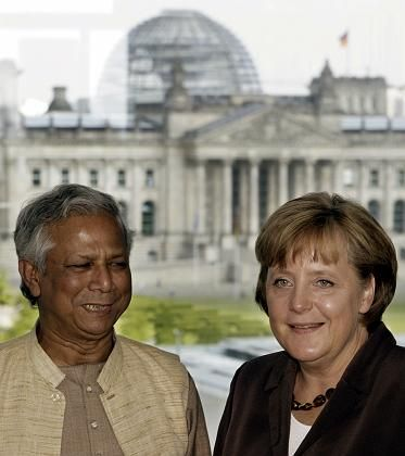 Nobel Peace Prize winner Muhammad Yunus thinks capitalism can be radically changed to help eradicate poverty.