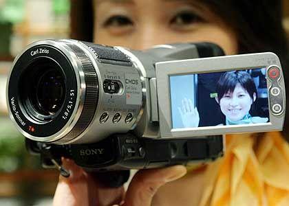 Sony HDR-HC1: Auflösung 1920 mal 1080 Pixel