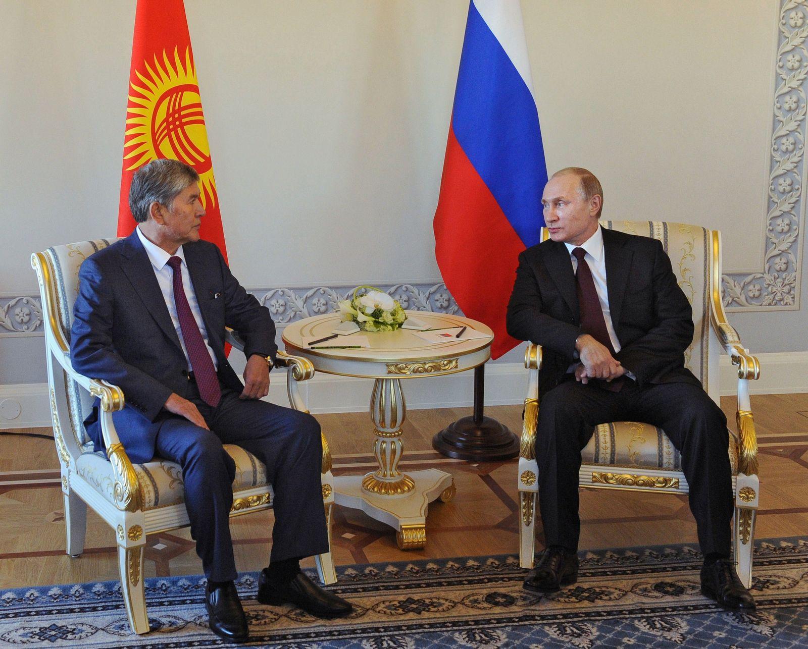 Putin / Atambayev