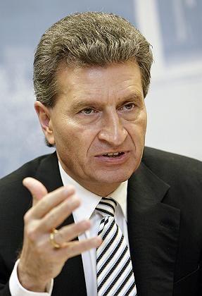 Deutliche Worte im Vorfeld der Ministerpräsidentenrunde: Günther Oettinger ist Koordinator der Medienpolitik der Unionsländer
