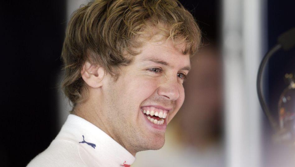 WM-Dritter Vettel: Erster und Zweiter im Freien Training