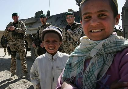 German troops have largely focused on reconstruction in the relatively peaceful northern part of Afghanistan.