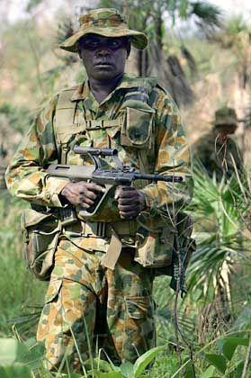 Australischer Soldat: Frische Kollegen könnten bald per SMS-Spam geworben werden