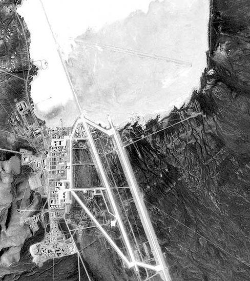"""""""Area 51"""" aus der Luft: Gründlich aufgeklärt"""