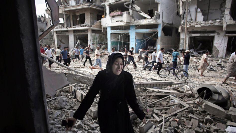 Kriegsschäden im Gaza-Streifen: Amnesty erhebt Vorwürfe gegen Israel