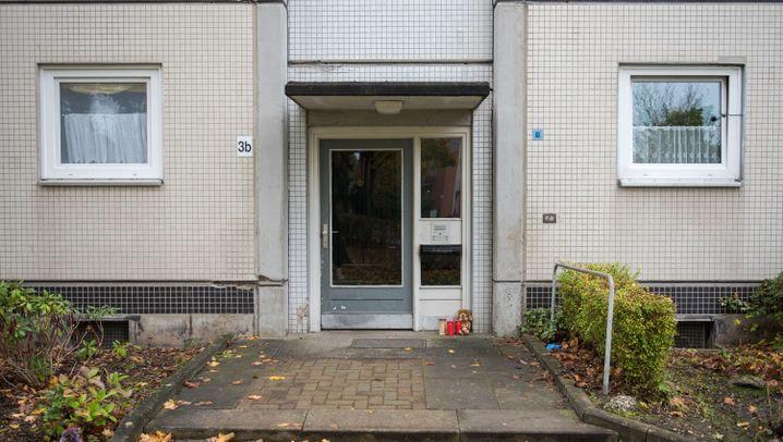 Getötetes Mädchen: Trauer in Hamburg-Neuwiedenthal