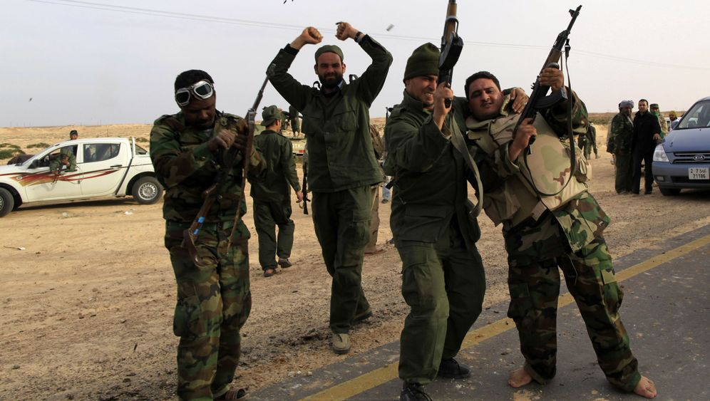 Libyen: Gaddafis Soldaten vor dem Ziel