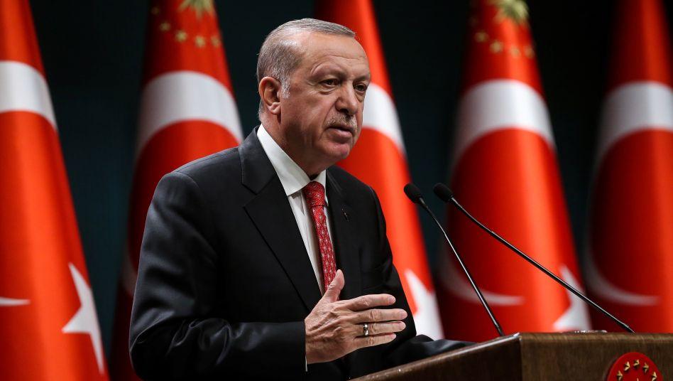 Türkischer Präsident Recep TayyipErdogan