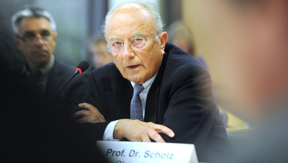 Ex-Verteidigungsminister Scholz: Absage an Ukraine-Agentur