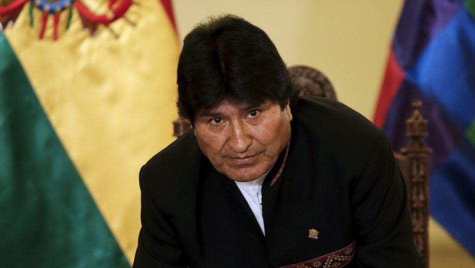 Boliviens Präsident Morales: 2020 ist wohl Schluss