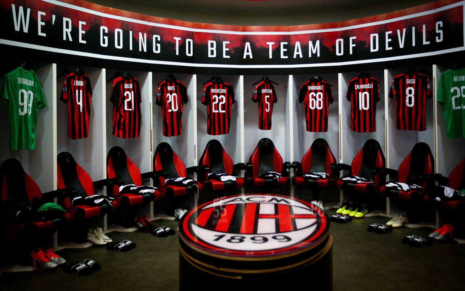EINMALIGE VERWENDUNG Money League/ AC Mailand