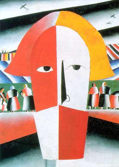 """""""Kopf eines Bauern"""", 1928/29"""