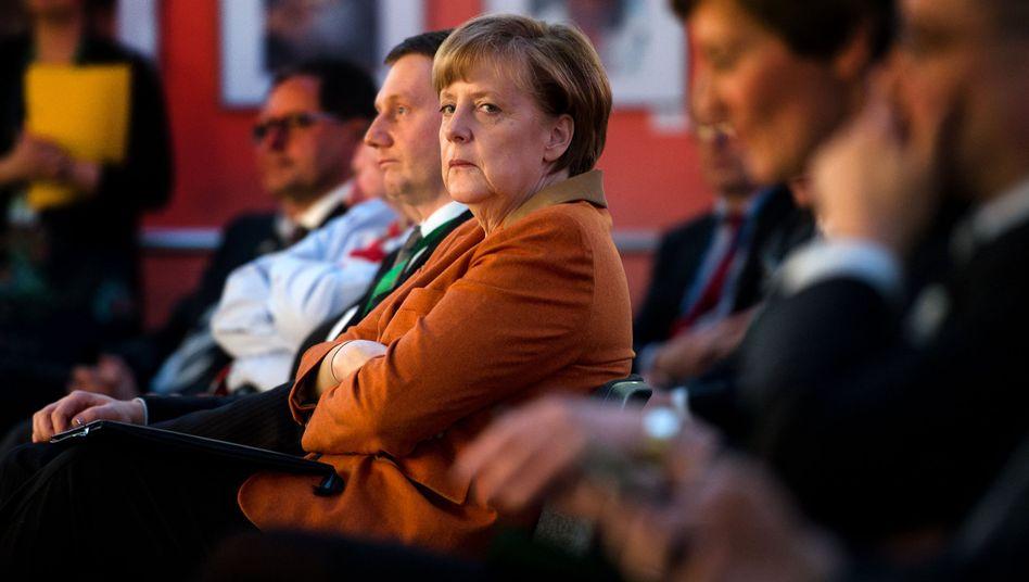 """Bundeskanzlerin Angela Merkel: Krim eine """"Annexion, die man Russland nicht durchgehen lassen kann"""""""