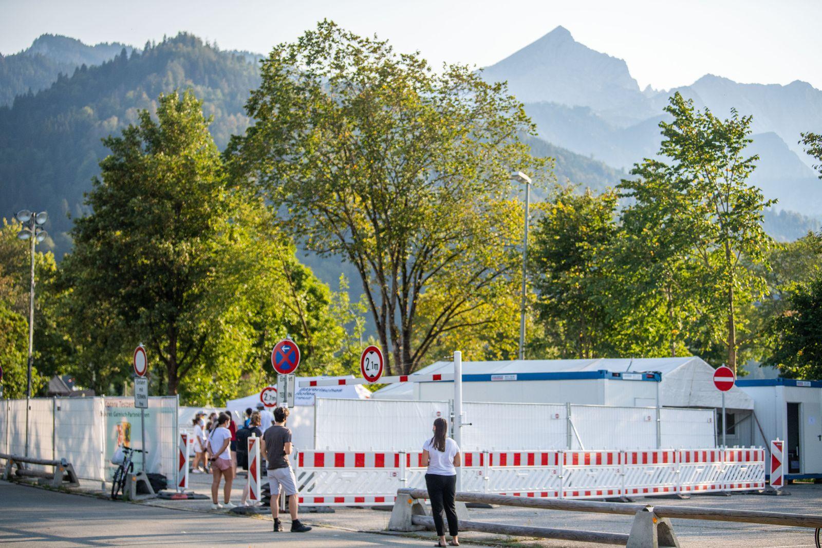 Corona-Ausbruch in Garmisch