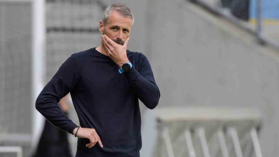 Gladbach-Coach Marco Rose zwischen Nachdenklichkeit und Vorfreude
