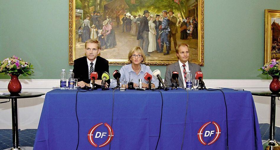 Parteichefin Kjærsgaard, Mitstreiter: »Stärkung des Dänentums«