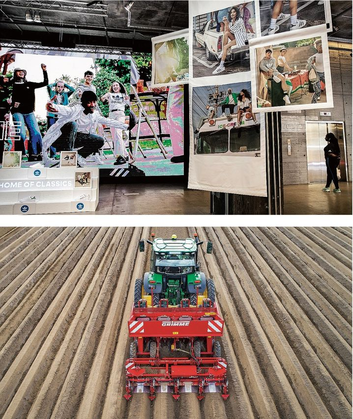 Some prefer to outsource (Adidas shop in New York) while others make almost everything in-house (such as the agricultural-machinery producer Grimme): Supply chains are only as strong as their weakest link.